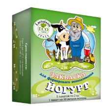 Закваска для йогурта Lactoferm-Eco (фермерская фасовка)